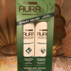 AURA shampoo & conditioner new